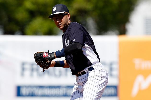 Jeter Scratched from Lineup Due to 'Cranky' Ankle