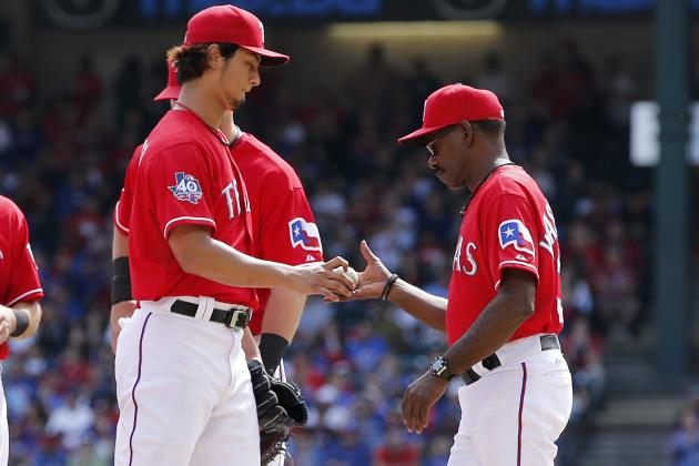 Rangers Not Concerned About Injury That Forced Yu Darvish to Miss Start
