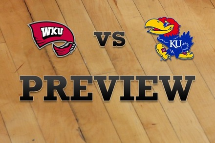 Western Kentucky vs. Kansas: Full Game Preview