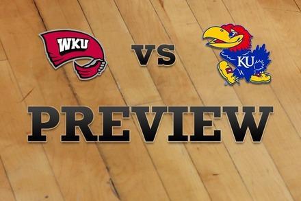 Western Kentucky vs. Kansas: Full Game Preview