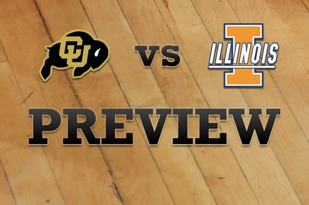 Colorado vs. Illinois: Full Game Preview