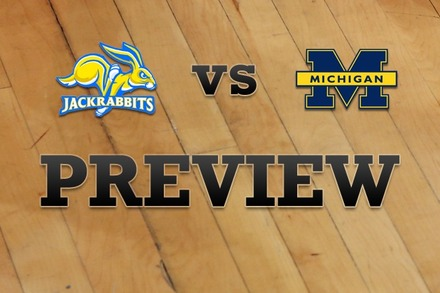 South Dakota State vs. Michigan: Full Game Preview