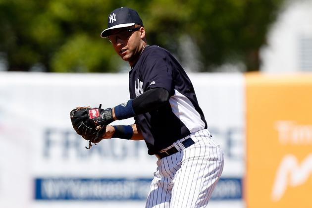 Jeter Scratched from Lineup with 'Cranky' Ankle