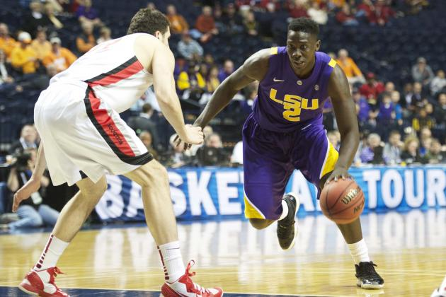 LSU Sophomore Johnny O'Bryant Voted All-SEC Second Team by the AP