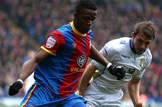 Zaha Handed One-Game Ban and Fined £3,000 over Finger Gesture