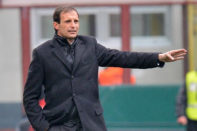 AC Milan Boss Massimiliano Allegri Shrugs Off Roma Link