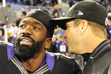 John Harbaugh and Ed Reed Exchanging Texts, Remain Hopeful