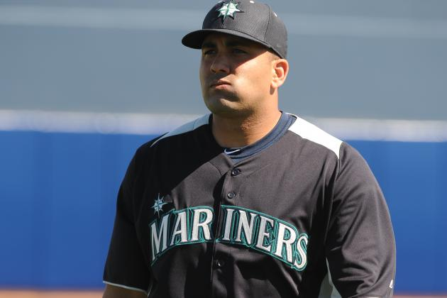 Healthy Kendrys Morales Making an Impression This Spring with Mariners