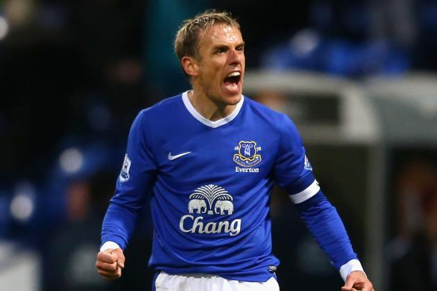 Everton Midfielder Phil Neville to Join England U21 Coaching Staff