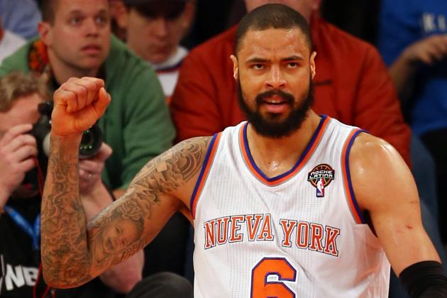 Tyson Chandler to Miss 1 Week with Small Bulging Disk