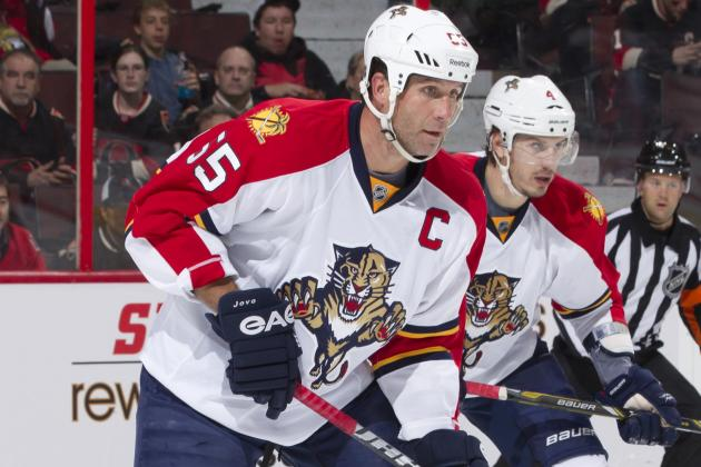 Panthers Captain Jovanovski out Indefinitely…Again