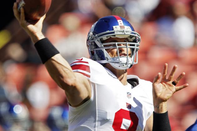 Report: Giants Re-Sign David Carr as Eli's Backup