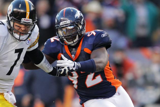 Elvis Dumervil, Broncos Negotiating; Ravens Remain in Picture