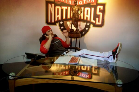 Picture of the Day: Bryce Harper Taking Season Ticket Orders