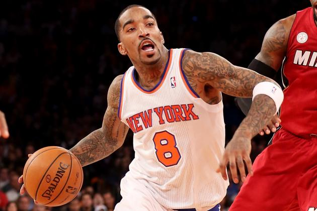 It's Up To J.R. Smith To Save New York's Season