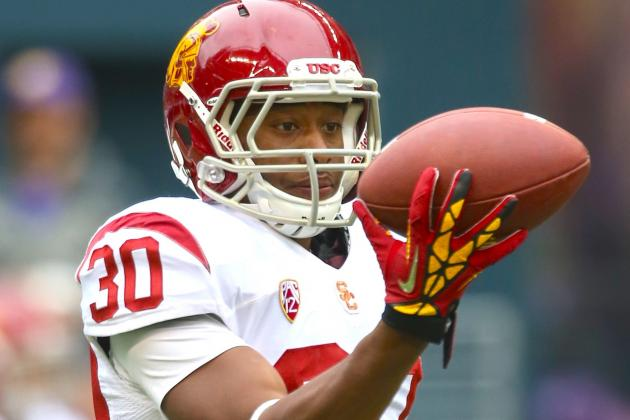 Who's Moving Up USC's Depth Chart with RB Silas Redd out for Spring?