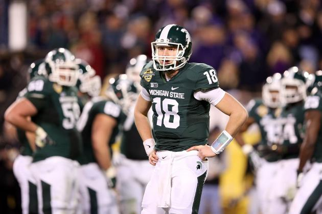 Michigan State Coach Mark Dantonio Sets Rules for Spartan Quarterback Derby
