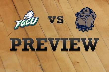 Florida Gulf Coast vs. Georgetown: Full Game Preview