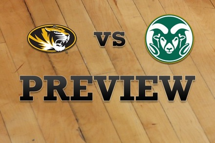 Missouri vs. Colorado State: Full Game Preview