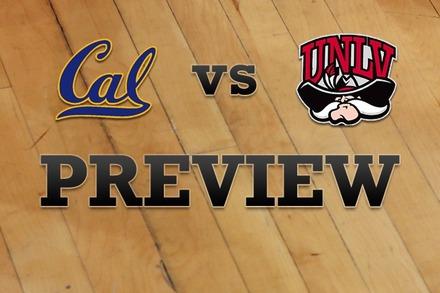 California vs. UNLV: Full Game Preview