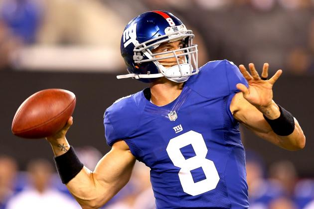 Report: New York Giants Re-Sign Backup QB David Carr