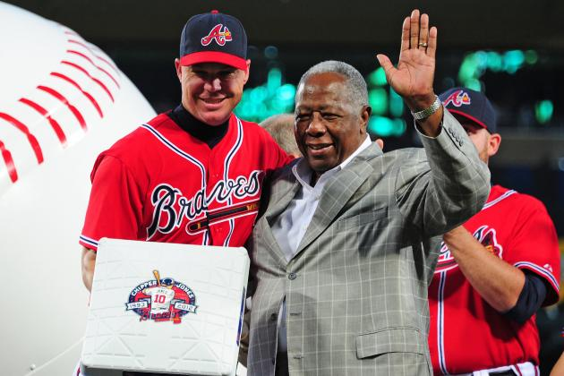 Hall of Famer and Braves SVP Hank Aaron Joins Twitter