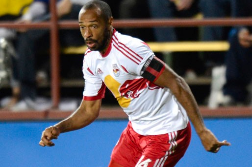 Thierry Henry to Miss Saturday's Match with Mild MCL Sprain