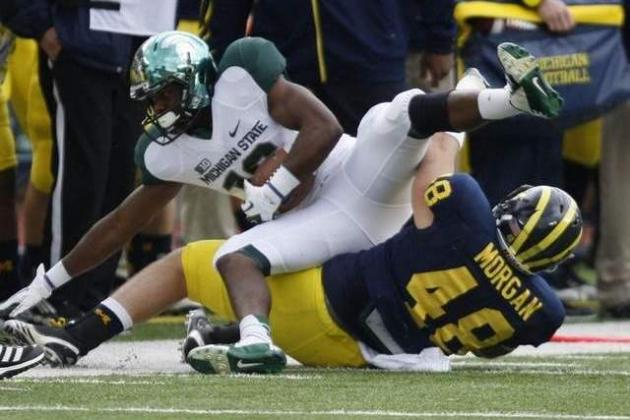 Report: Michigan, MSU Definitely Will Be in Same Football Division