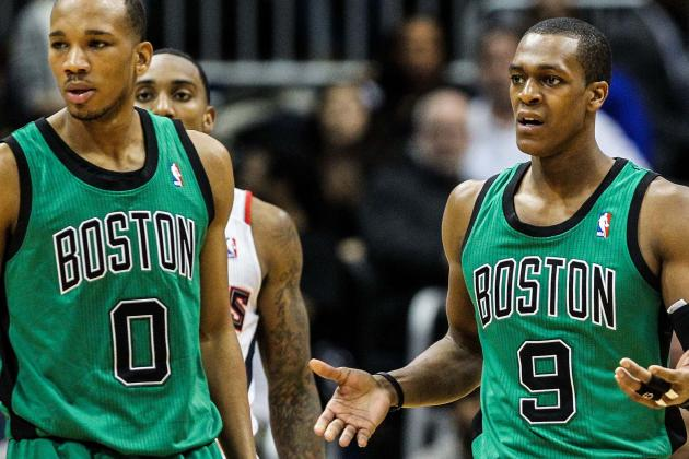Ainge on Future Backcourt, Green, KG