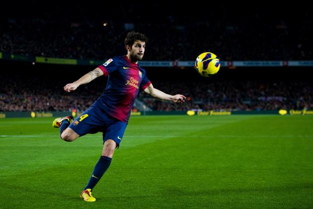Is There a Place for Cesc Fabregas in Barcelona's Big Games?