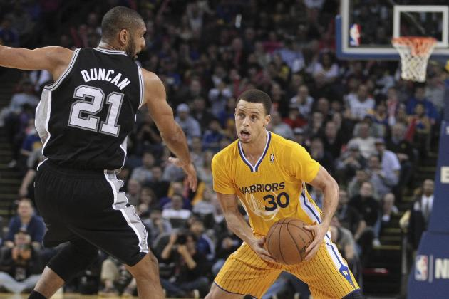 Curry Could Be 'Nightmare' for Scuffling Spurs Defense