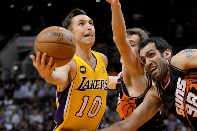 Steve Nash Says the Lakers 'Hit a Wall' in Loss to Phoenix