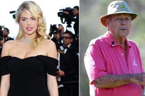 Palmer Having Dinner with Model Kate Upton