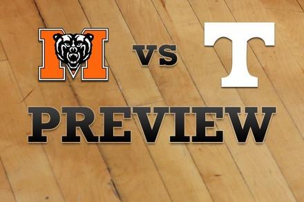Mercer vs. Tennessee: Full Game Preview