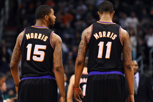 Morris Twins Making Impact for Suns