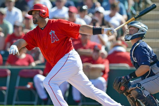 Pujols Dealing with Plantar Fasciitis in Left Foot