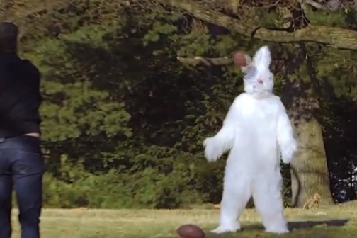 Easter Bunny Apologizes to Tom Brady for Junk Food Transgressions