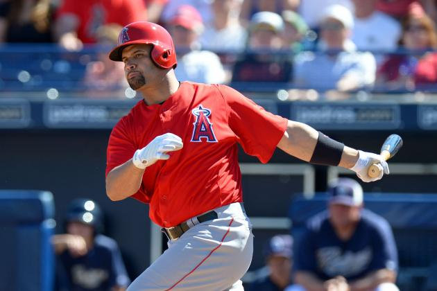 Pujols: First Spring Appearance in Field Leads to Other Questions