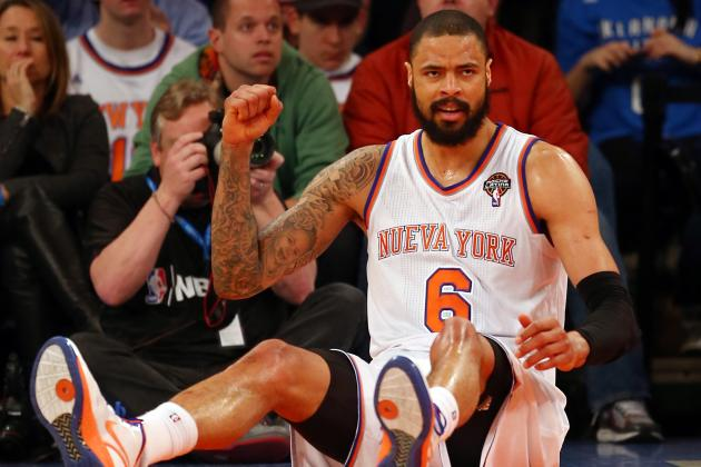 Tyson Chandler's Injury Status Has Potential to Submarine Knicks' Season