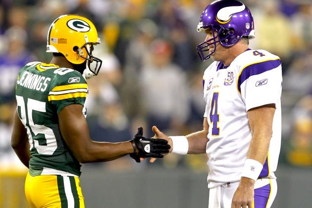 Brett Favre Helped Convince Greg Jennings to Sign with Minnesota Vikings