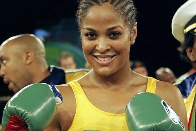 Laila Ali Says She Can Beat Up Chris Brown