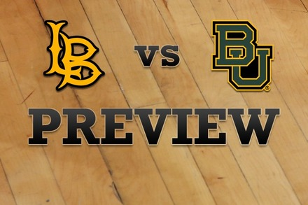 Long Beach State vs. Baylor: Full Game Preview