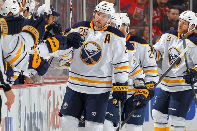 Thomas Vanek Injury: Updates on Sabres Star's Status
