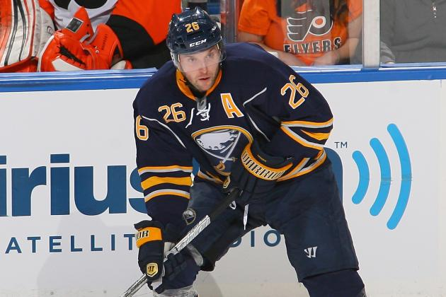 Thomas Vanek Leaves Sabres Game vs. Canadiens