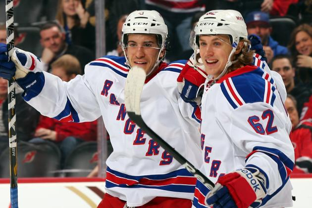 Del Zotto Key as Rangers Top Struggling Devils