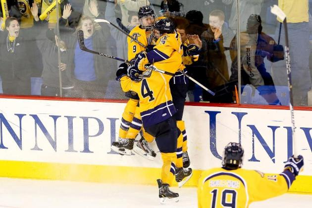 Weekend Recap: Quinnipiac Advances to ECAC Semifinals in Dramatic Double-OT Win