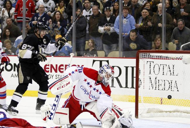 The Penguins defeated the Capitals 2-1 in a good game in Pittsburgh tonight