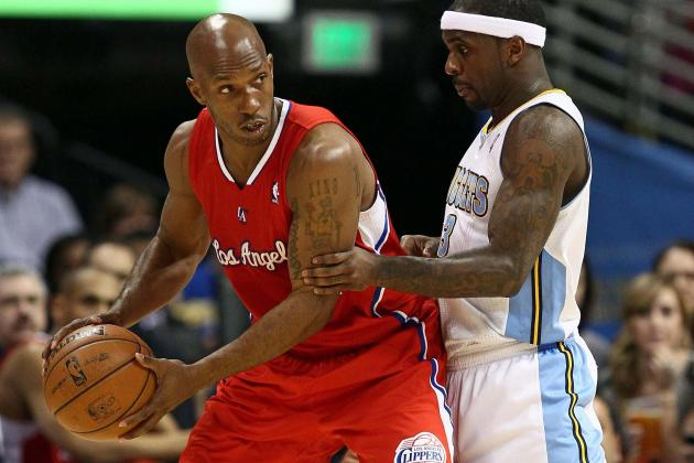 Chauncey Billups out for Remainder of Game