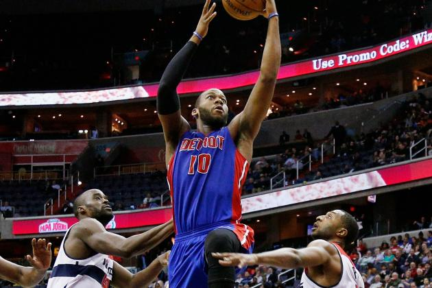 Has Greg Monroe Hit His Ceiling Already for Detroit Pistons?