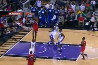 Chris Paul with the Spin Move, Behind-the-Back, Half-Court Alley-Oop Pass
